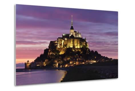 Mont Saint Michel at Sunset-Markus Lange-Metal Print
