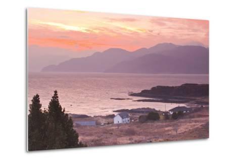 The Sound of Sleat During Sunrise from the Isle of Skye-Julian Elliott-Metal Print