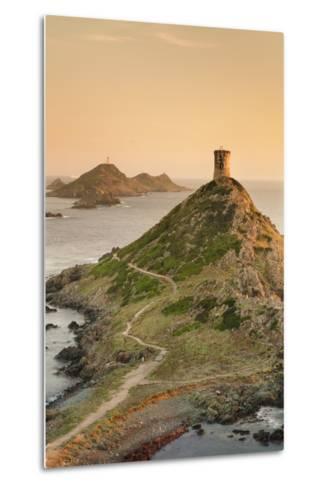 Tour De La Parata and the Islands of Iles Sanguinaires, Corsica, France, Mediterranean, Europe-Markus Lange-Metal Print
