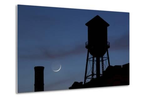 Water Towers, Jersey City, New Jersey-Paul Souders-Metal Print