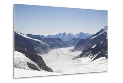 Aletsch Glacier, UNESCO World Heritage Site, Kleine Scheidegg-Angelo Cavalli-Metal Print