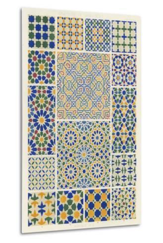 Moorish Design-Owen Jones-Metal Print
