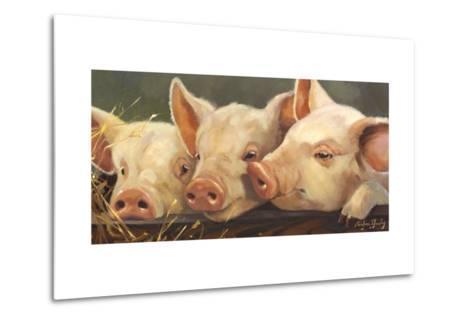 Pig Heaven-Carolyne Hawley-Metal Print