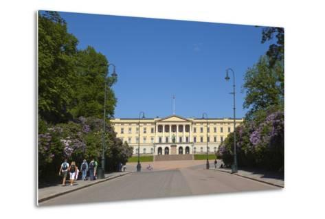 Royal Palace (Slottet), Oslo, Norway, Scandinavia, Europe-Doug Pearson-Metal Print