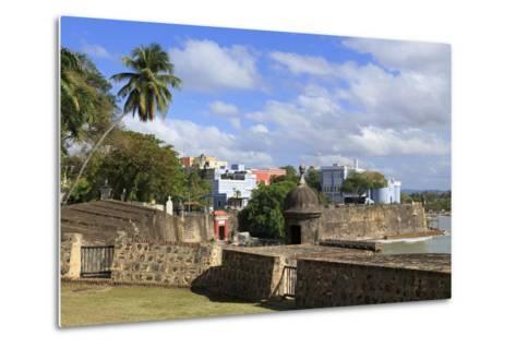 City Walls in Old San Juan, Puerto Rico, West Indies, Caribbean, Central America-Richard Cummins-Metal Print