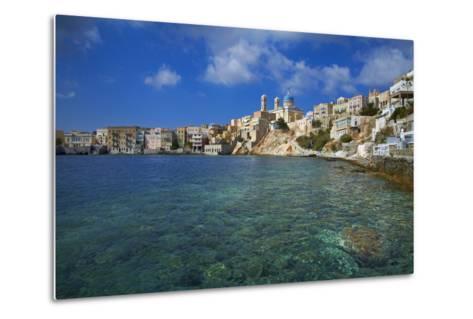 Ermoupoli (Khora), Syros Island, Cyclades, Greek Islands, Greece, Europe-Tuul-Metal Print