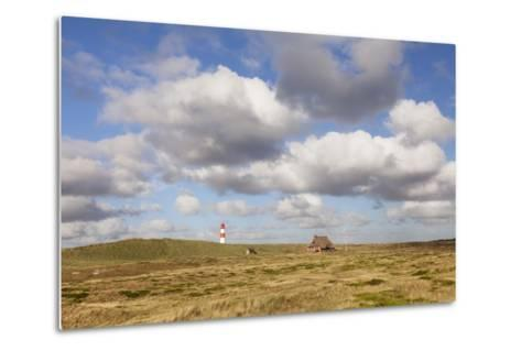 Lighthouse List Ost and Frisian House-Markus Lange-Metal Print