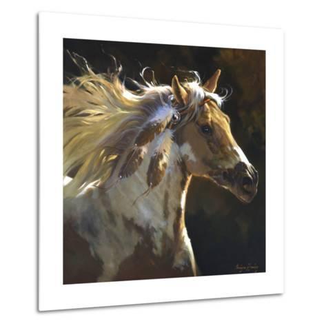 Spirit Horse-Carolyne Hawley-Metal Print