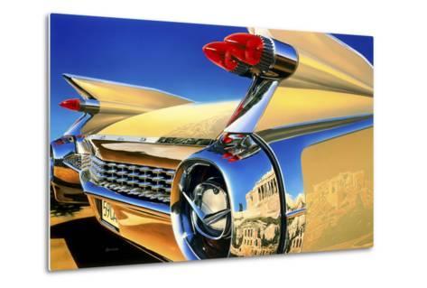 '59 El Dorado Athens-Graham Reynolds-Metal Print