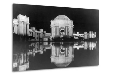 Palace of Fine Arts at the Panama-Pacific Internatonal Exposition--Metal Print
