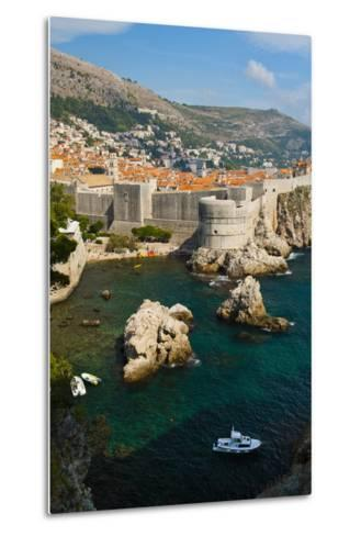 Dubrovnik Old Town and the City Walls-Matthew Williams-Ellis-Metal Print