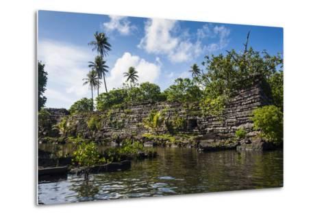 Ruined City of Nan Madol-Michael Runkel-Metal Print