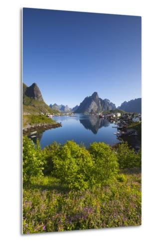 The Picturesque Fishing Village of Reine-Doug Pearson-Metal Print