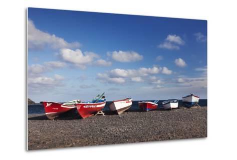 Fishing Boats, Pozo Negro, Fuerteventura, Canary Islands, Spain, Atlantic, Europe-Markus Lange-Metal Print