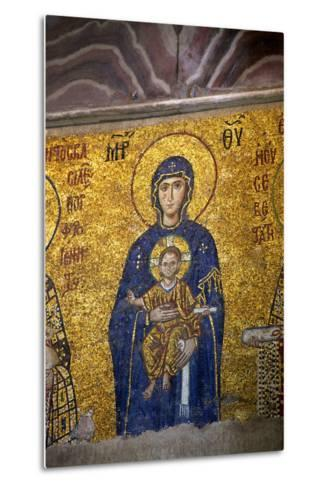 Mosaic of the Virgin and Child-Neil Farrin-Metal Print
