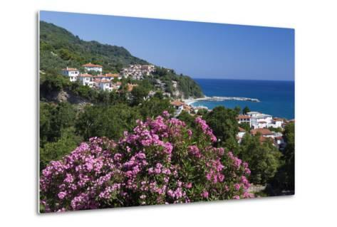 View over Resort, Agios Ioannis, Pelion Peninsula, Thessaly, Greece, Europe-Stuart Black-Metal Print
