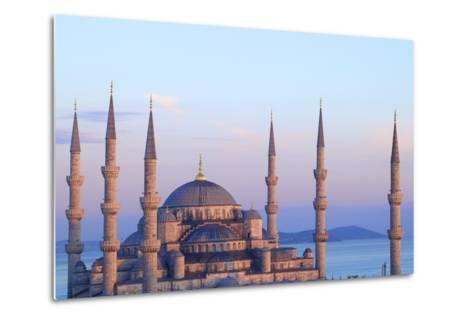 Blue Mosque (Sultan Ahmet Camii), Istanbul, Turkey-Neil Farrin-Metal Print