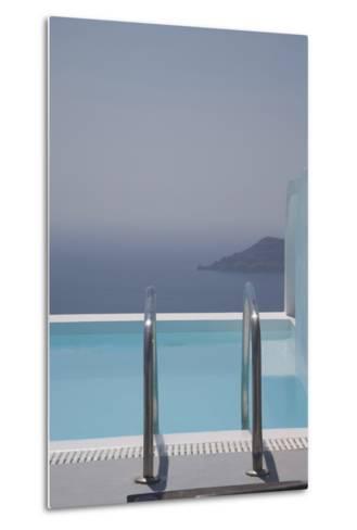 Oia, Santorini (Thira), Cyclades, Greek Islands, Greece, Europe-Angelo Cavalli-Metal Print