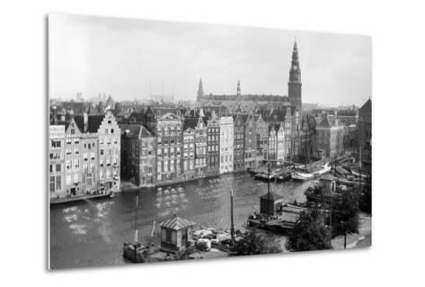 Tourist Photo in the Netherlands, Ca. 1910--Metal Print