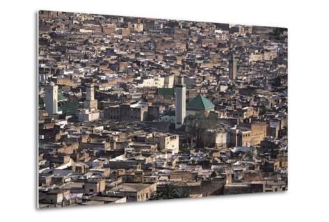 Medina, Fez, Morocco-Adam Woolfitt-Metal Print
