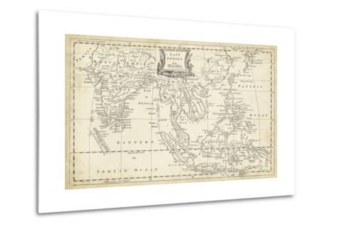 Map of East Indies-T^ Jeffreys-Metal Print