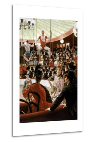 Women of Paris: the Circus Lover-James Tissot-Metal Print