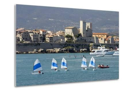 View of Old Town and Bay-Stuart Black-Metal Print