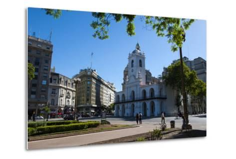 Downtown Buenos Aires, Argentina, South America-Michael Runkel-Metal Print