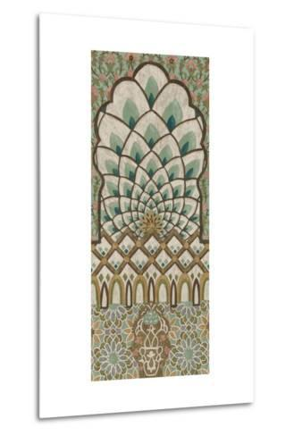 Peacock Tapestry I-Chariklia Zarris-Metal Print