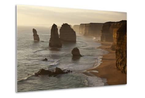 Twelve Apostles Sea Stacks in Australia-Paul Souders-Metal Print