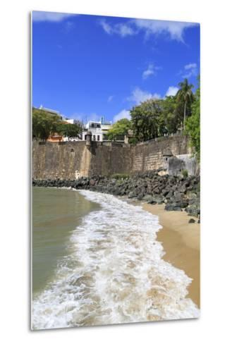 City Walls in Old San Juan, Puerto Rico, West Indies, Caribbean, Central America-Richard Cummins-Metal Print