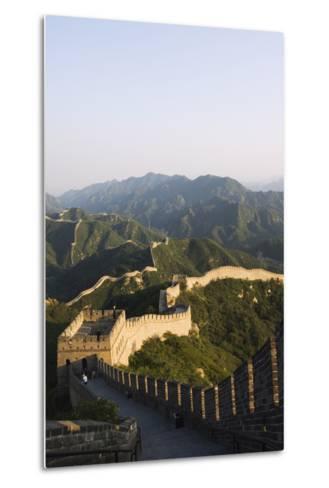 Great Wall of China at Badaling-Christian Kober-Metal Print