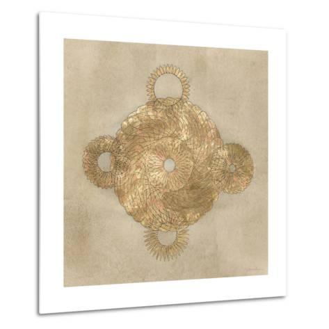Solar Medallion II-Vanna Lam-Metal Print