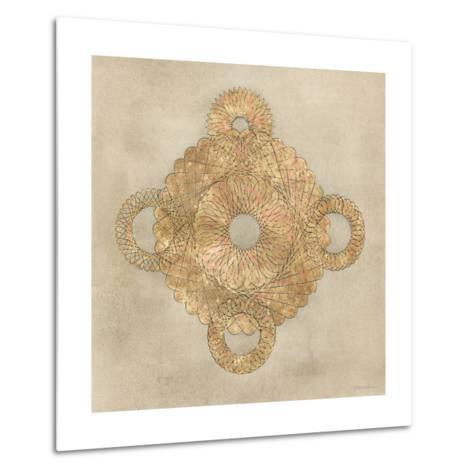 Solar Medallion I-Vanna Lam-Metal Print