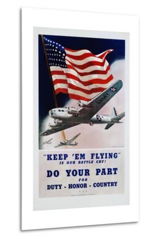 Do Your Part Poster-Dan V. Smith and Albro F. Downe-Metal Print