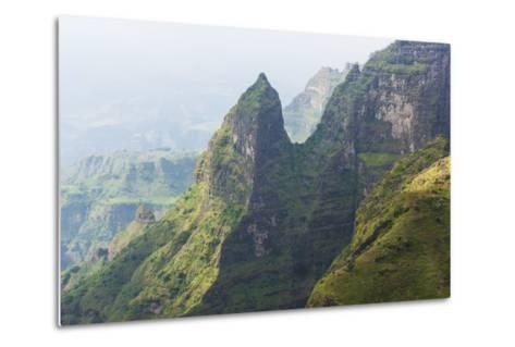 Simien Mountains National Park, UNESCO World Heritage Site, Amhara Region, Ethiopia, Africa-Gabrielle and Michael Therin-Weise-Metal Print