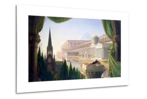 Architect's Dream-Thomas Cole-Metal Print