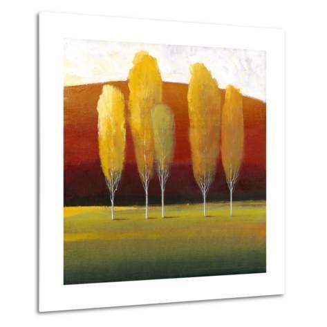 Glowing Trees II-Tim O'toole-Metal Print