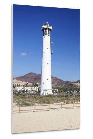 Lighthouse of Faro De Jandia, Jandia, Fuerteventura, Canary Islands, Spain, Atlantic, Europe-Markus Lange-Metal Print