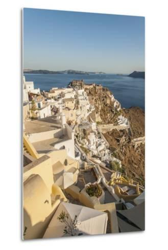 Oia, View of the Village-Guido Cozzi-Metal Print