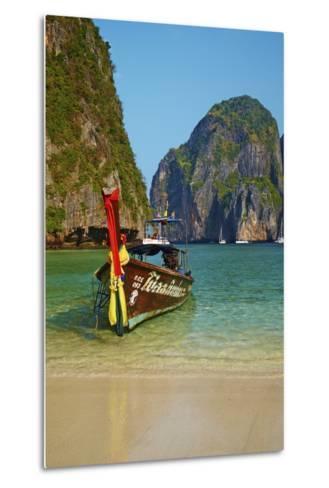 Ao Maya Bay, Ko Phi Phi Le Island, Krabi Province, Thailand, Southeast Asia, Asia--Metal Print