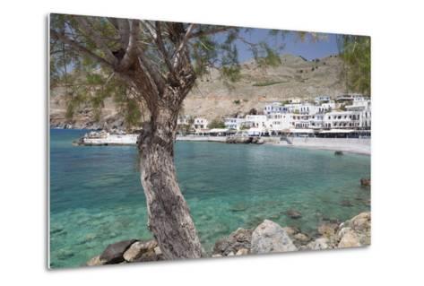 Chora Sfakion, South Crete, Crete, Greek Islands, Greece, Europe-Markus Lange-Metal Print