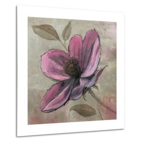 Plum Floral III-Emily Adams-Metal Print