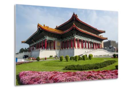 National Theatre on the Grounds of the Chiang Kai-Shek Memorial Hall, Taipeh, Taiwan-Michael Runkel-Metal Print