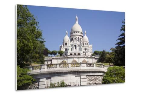 Sacre Coeur Cathedral--Metal Print