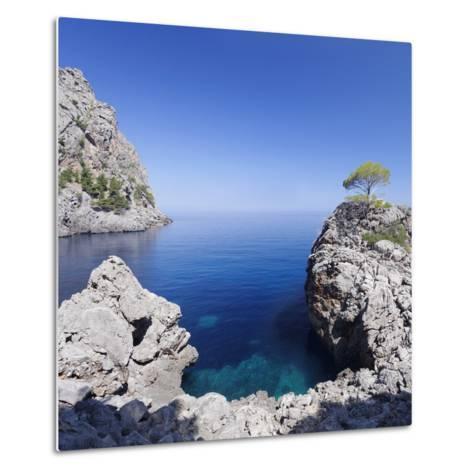 Bay Cala De Sa Calobra, Majorca (Mallorca), Balearic Islands (Islas Baleares)-Markus Lange-Metal Print
