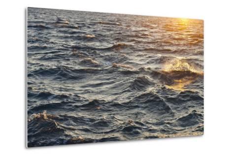 Sea at Sunset, Korcula Island, Croatia-Guido Cozzi-Metal Print