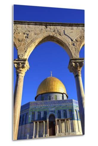 The Dome of the Rock, Temple Mount, UNESCO World Heritage Site, Jerusalem, Israel, Middle East-Neil Farrin-Metal Print