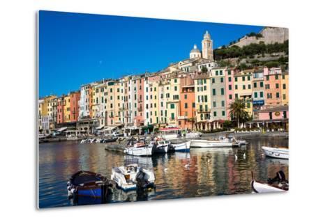 Porto Venere, Cinque Terre, UNESCO World Heritage Site, Liguria, Italy, Europe-Peter Groenendijk-Metal Print