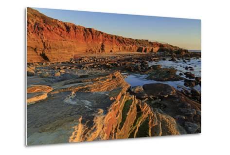 Low Tide, Cabrillo National Monument, Point Loma, San Diego, California, Usa-Richard Cummins-Metal Print